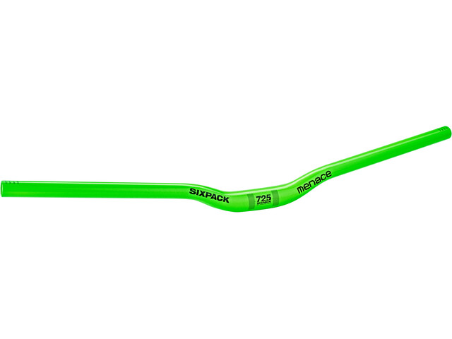 Sixpack Menace 725 Stuur 25mm, liquid/green